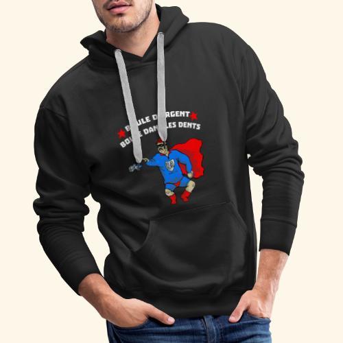 boule d' argent - Sweat-shirt à capuche Premium pour hommes