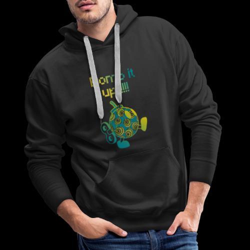 Bomb It Up : Green Power !!! - Sweat-shirt à capuche Premium pour hommes