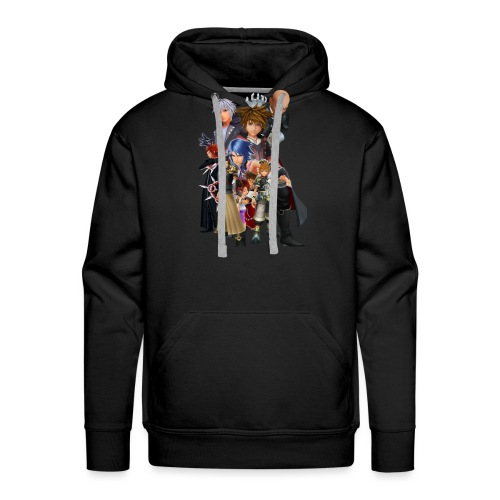 Kingdom Hearts Design (WjkoenhdindustrieS) - Men's Premium Hoodie