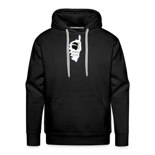 T-Shirt Corse - Sweat-shirt à capuche Premium pour hommes
