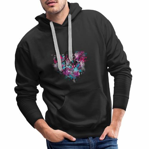 Love with Heart - Men's Premium Hoodie