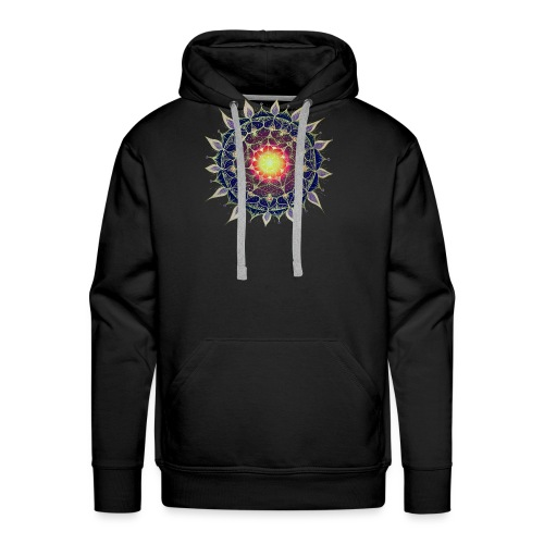 SoulArt-Mandala Neues Leben - Männer Premium Hoodie