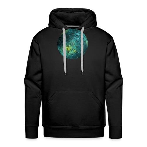 FlowerOfLife Cool - Mannen Premium hoodie