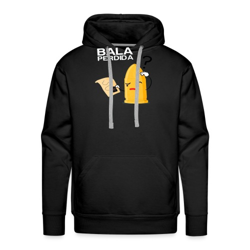 Bala Perdida / Loss Bullet - Sudadera con capucha premium para hombre