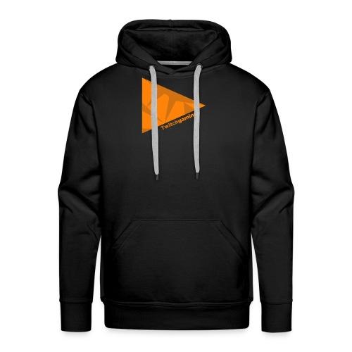 HotPans Twitchgaming Logo hinten - Männer Premium Hoodie