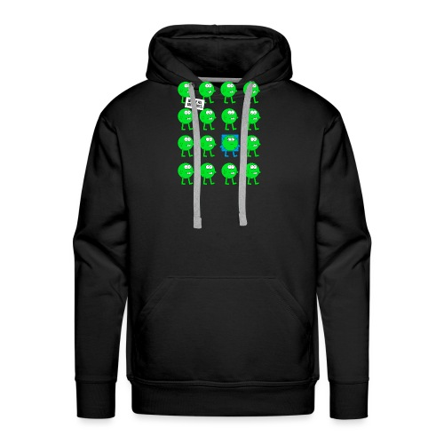 We are all green dots! - Männer Premium Hoodie