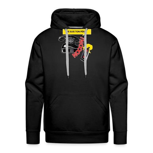 Génération Téléphone - Sweat-shirt à capuche Premium pour hommes