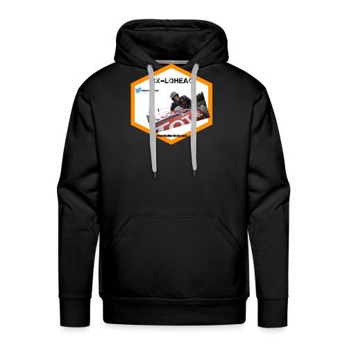 rxloheac new logo grand format png - Sweat-shirt à capuche Premium pour hommes