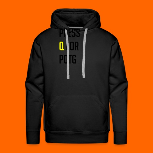 Press Q for play of the game - Men's Premium Hoodie