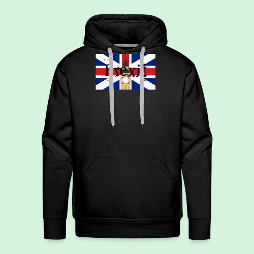 brexit - Felpa con cappuccio premium da uomo