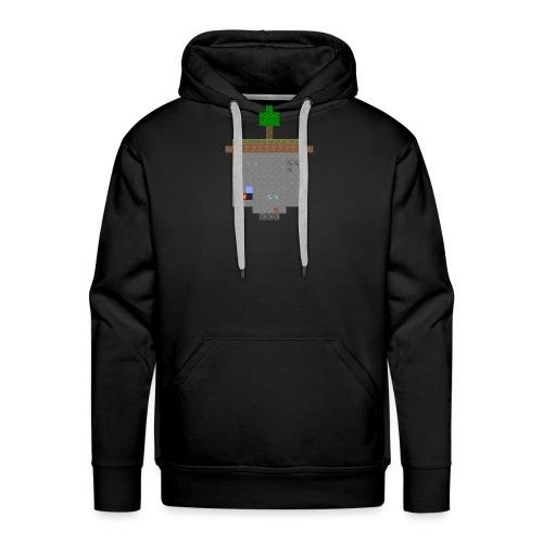 Minecraft World Querschnitt - Männer Premium Hoodie