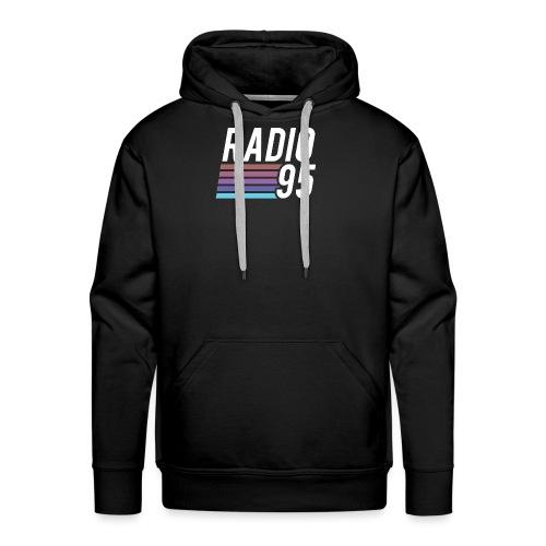 Il serbatoio superiore (Canotta) di Radio95! - Felpa con cappuccio premium da uomo