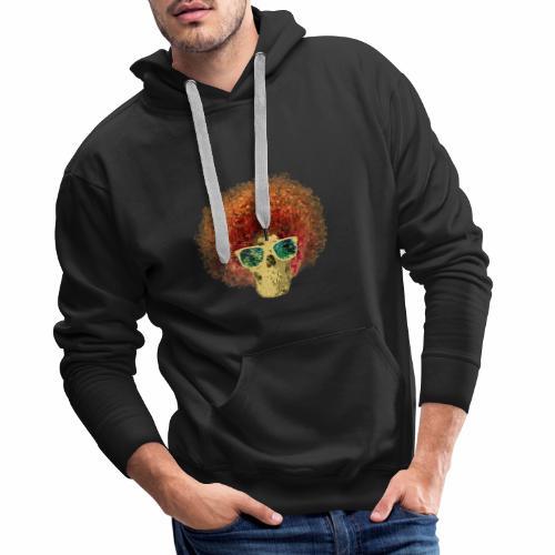 Freaky Skull Vintage - Mannen Premium hoodie