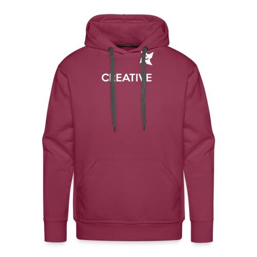 Creative long urban shirt - Herre Premium hættetrøje