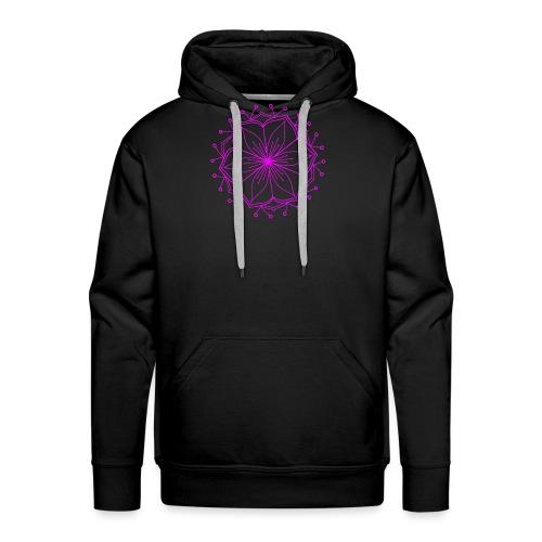 Pink Lotus Mandala - Men's Premium Hoodie