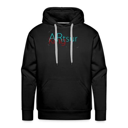 ARtsurKing Logo - Men's Premium Hoodie