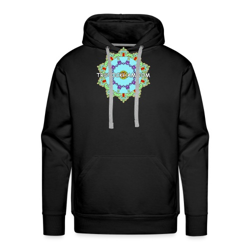 Enjoyably Quirky Colouring Book Design 9 - Men's Premium Hoodie