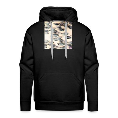 Poissons - Sweat-shirt à capuche Premium pour hommes
