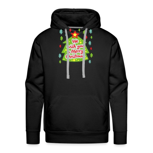 We wish you a Merry Christmas - Men's Premium Hoodie