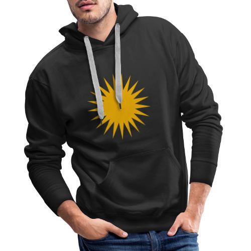 Kurdische Sonne Symbol - Männer Premium Hoodie