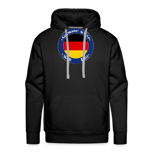 germany first - Men's Premium Hoodie