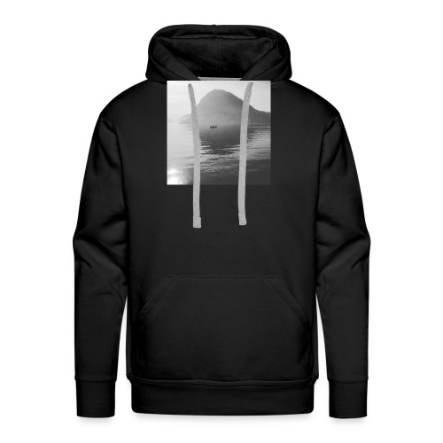 quiet lake - Men's Premium Hoodie
