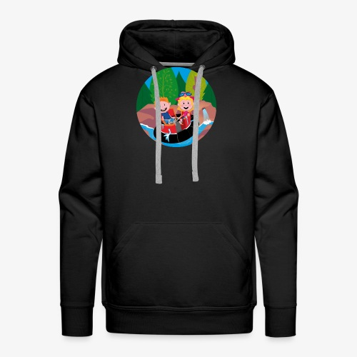 Themepark: Rapids - Mannen Premium hoodie