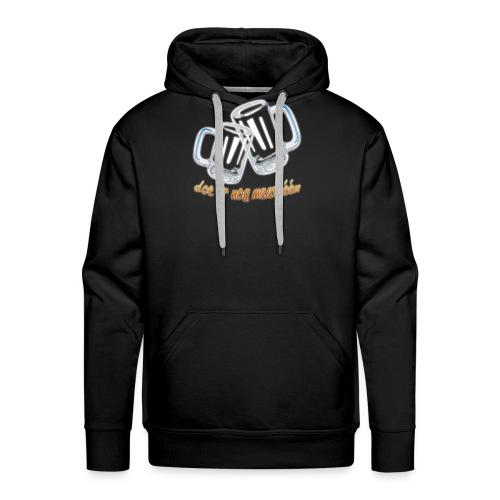 Doe er nog maar een Shirt png - Mannen Premium hoodie