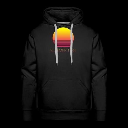 Summer 1984 - Vaporwave - Sweat-shirt à capuche Premium pour hommes
