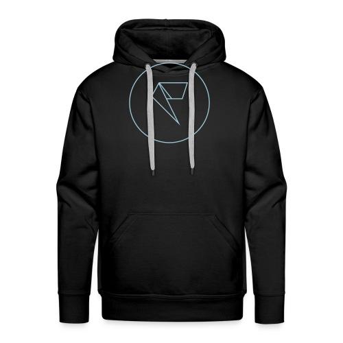 Logo Factornews.com minimaliste - Sweat-shirt à capuche Premium pour hommes