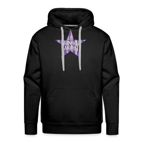 bonnet LCC noir etoie violette - Men's Premium Hoodie