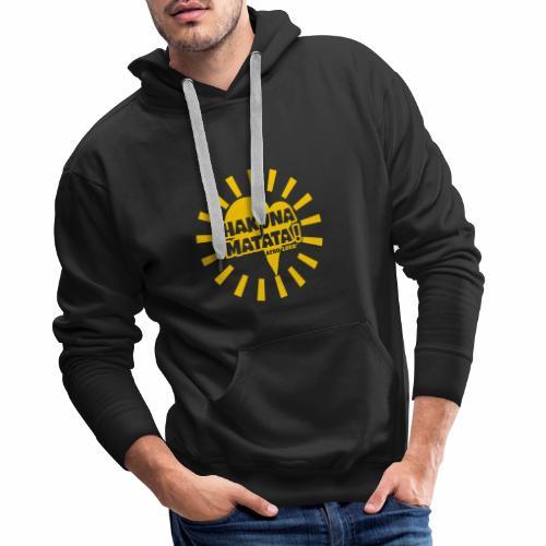 HAKUNA transparent - Sweat-shirt à capuche Premium pour hommes