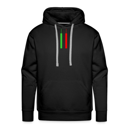Two Forex Candles - Men's Premium Hoodie