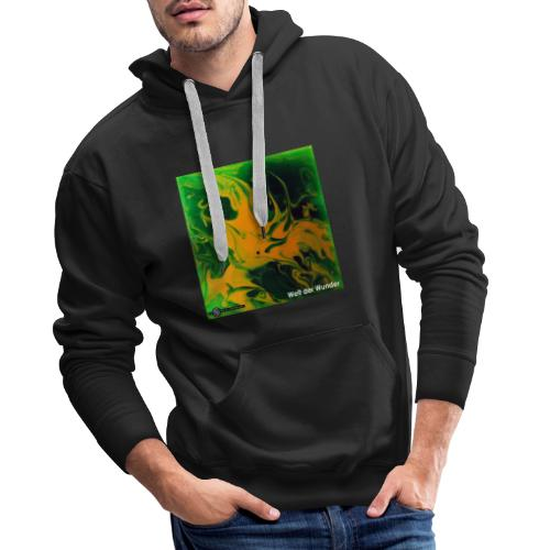 TIAN GREEN Mosaik DE002 - Welt der Wunder - Männer Premium Hoodie