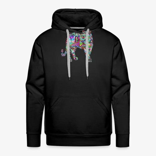 Tigre - Sweat-shirt à capuche Premium pour hommes