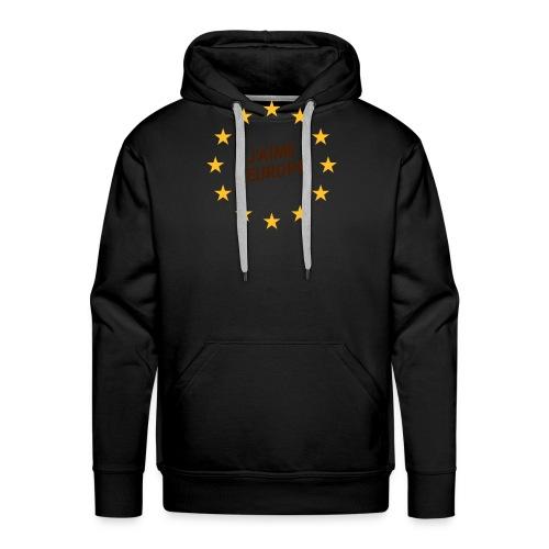 J'aime l'europe- ich liebe Europa - Männer Premium Hoodie
