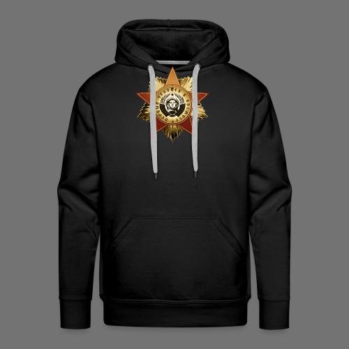 Medal kosmonauta - Bluza męska Premium z kapturem
