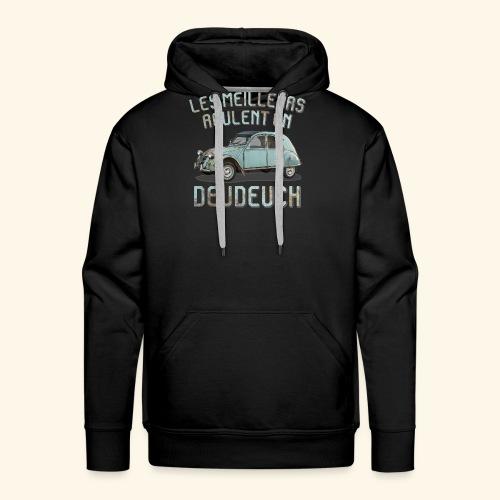2CV rouille - Sweat-shirt à capuche Premium pour hommes