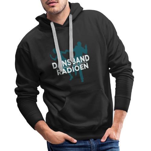 Dansbandradioen - Premium hettegenser for menn