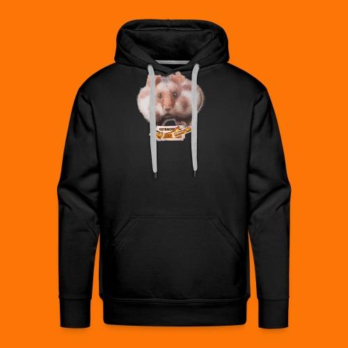 SixDipHamster (logo) - Sweat-shirt à capuche Premium pour hommes