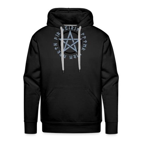 Pentagramm, Elemente, Runen, Magie, Symbol, Stern - Männer Premium Hoodie