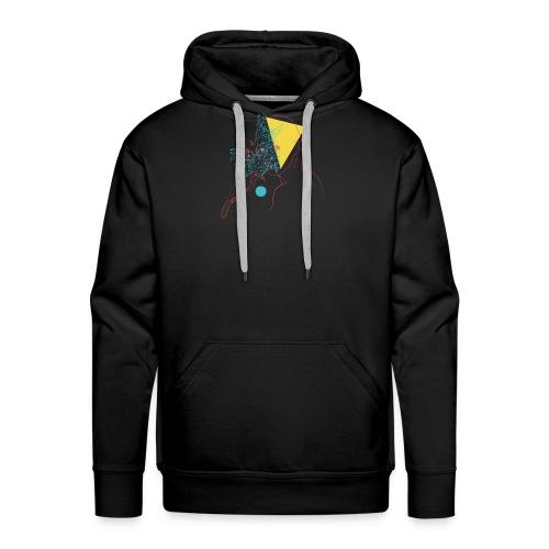 a girl and a bird - Sweat-shirt à capuche Premium pour hommes