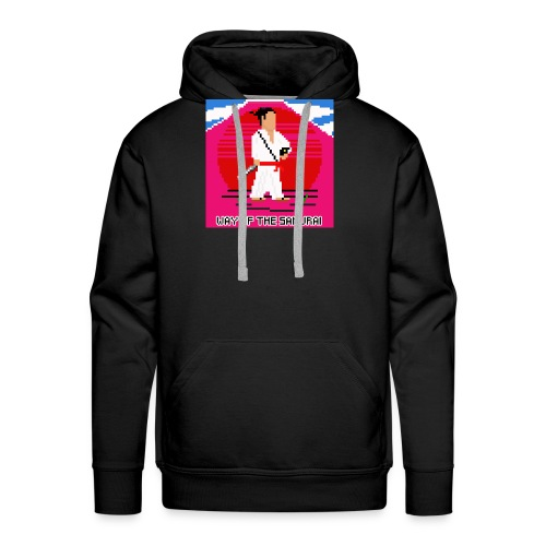 Pixel Samurai - Herre Premium hættetrøje