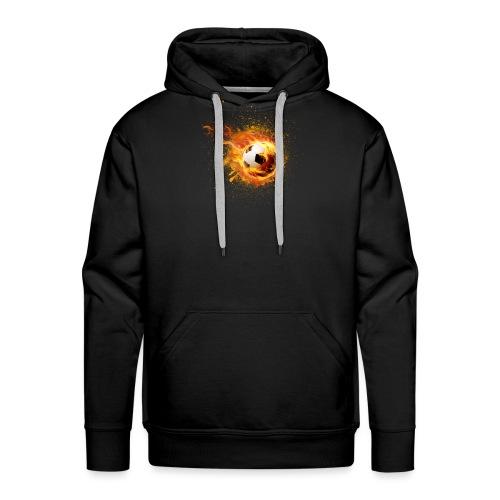 fire football - Männer Premium Hoodie
