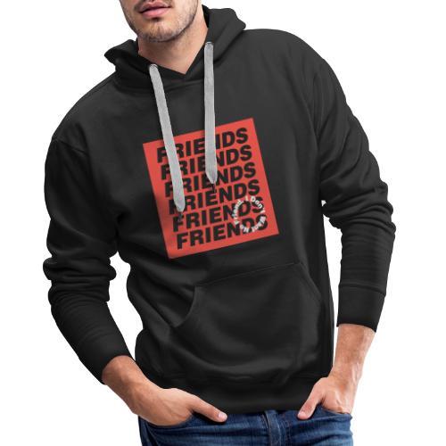 TYPOGRAPHY 16 - Men's Premium Hoodie
