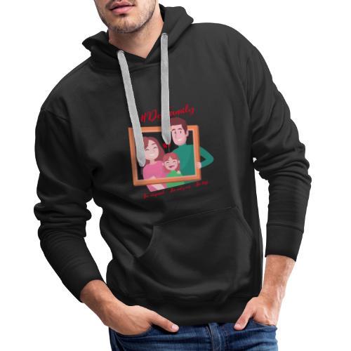 FAMILY - Sweat-shirt à capuche Premium pour hommes