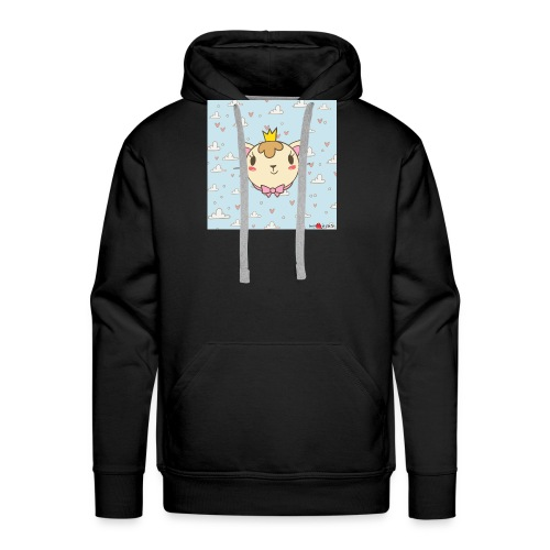 cat princess - Männer Premium Hoodie