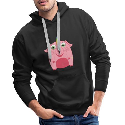 Schweinhorn - Männer Premium Hoodie