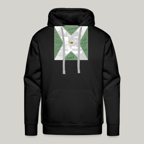 iLabX - The Virtual Internet Laboratory - Men's Premium Hoodie