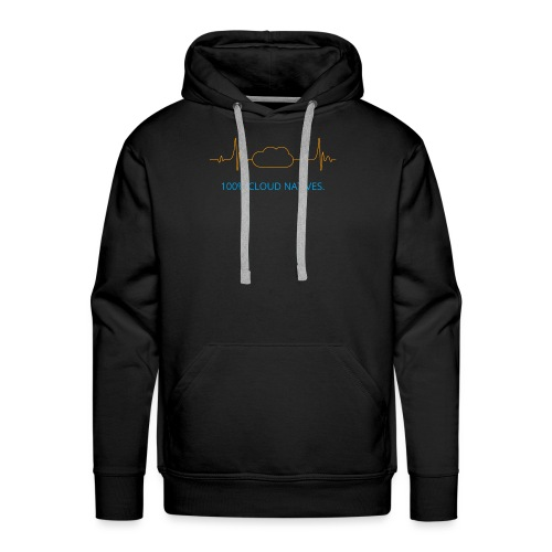 100% Cloud Natives. - Männer Premium Hoodie